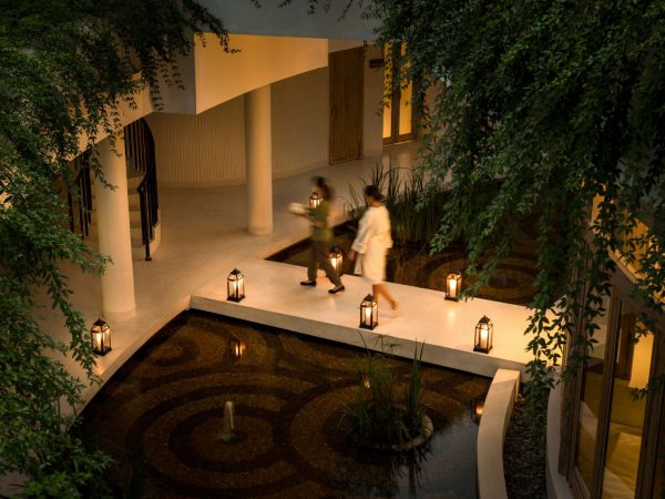 Six Senses Spa Walkway