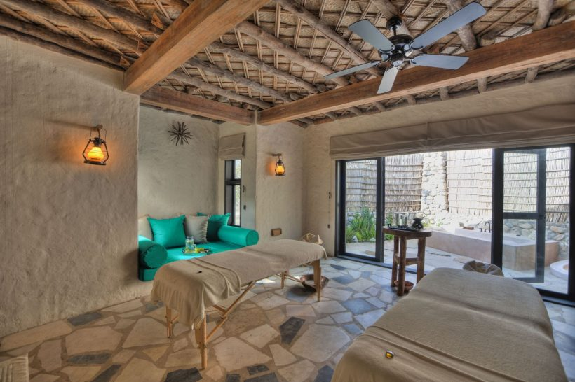 Six Senses Zighy Bay Spa Treatment Room