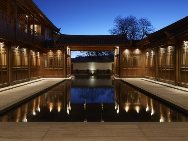20m outdoor, heated spa swimming pool with expansive terrace and sun loungers.