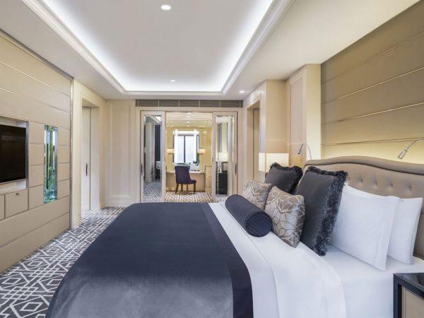 St Regis Suite Bedroom With Walk In Wardrobe
