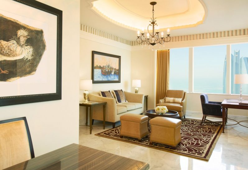 St Regis Suite Living Room