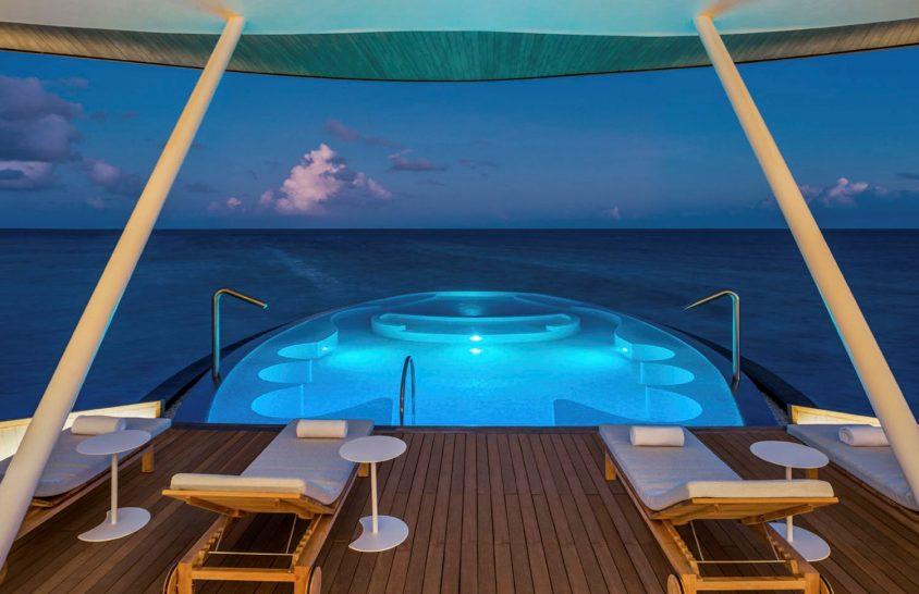 St Regis Vommuli Maldives Blue Hole Pool Iridium Spa