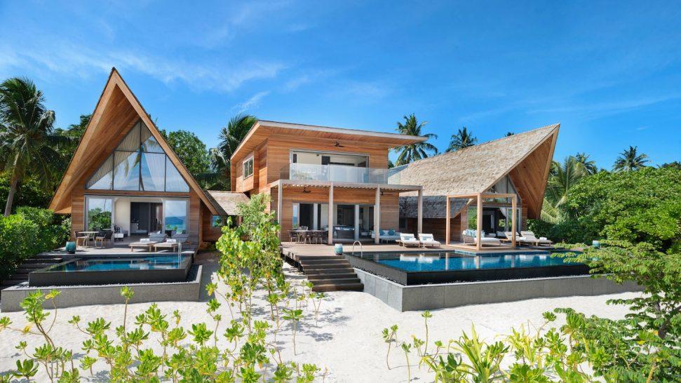 St Regis Vommuli Maldives Caroline Astor Estate Exterior