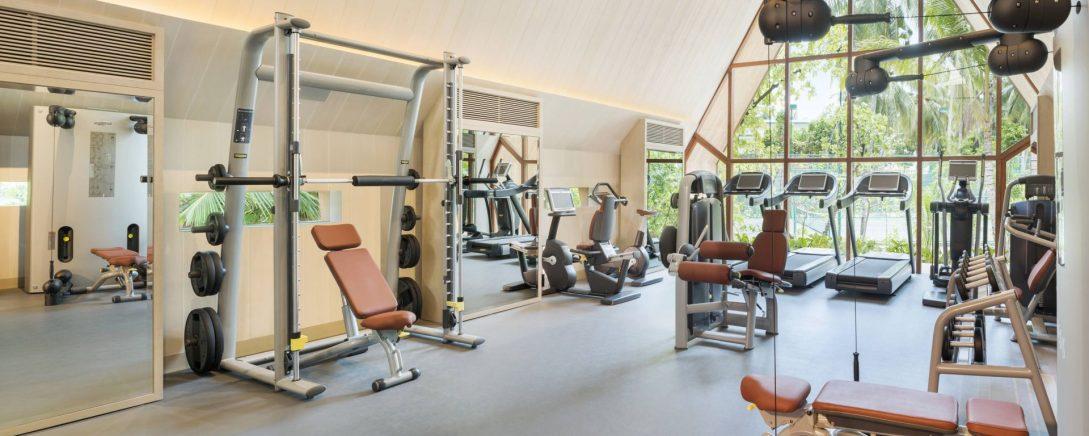 St Regis Vommuli Maldives Fitness Center