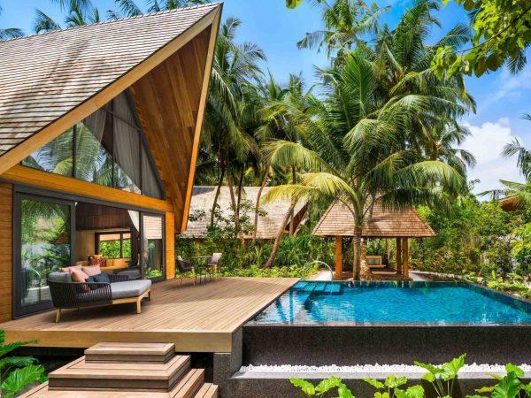 St Regis Vommuli Maldives Garden Villa w Pool