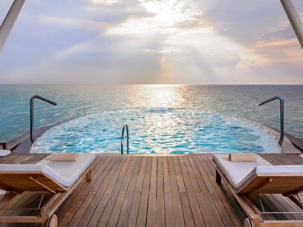 St Regis Vommuli Maldives Hydrotherapy Pool