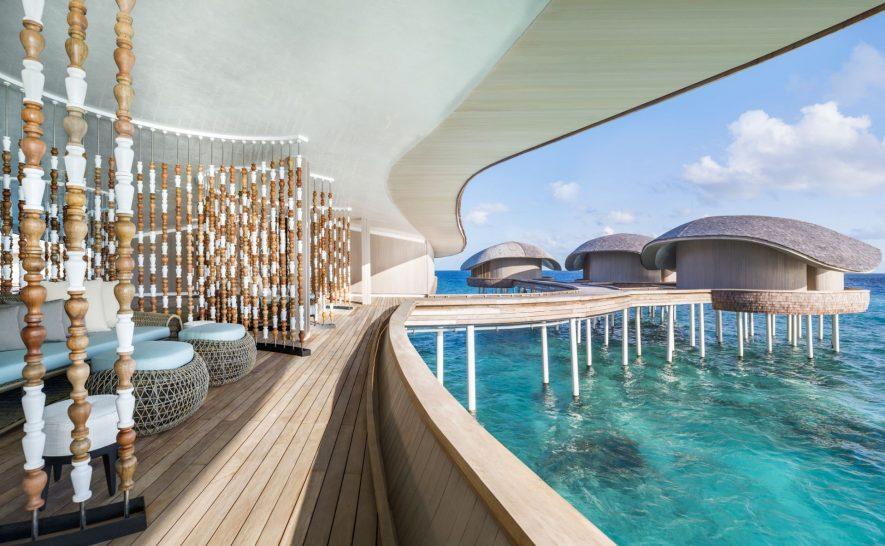 St Regis Vommuli Maldives Iridium Spa Treatment Rooms