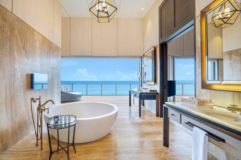 St Regis Vommuli Maldives John Jacob Astor Estate Bathroom