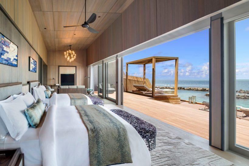 St Regis Vommuli Maldives John Jacob Astor Estate Bedroom