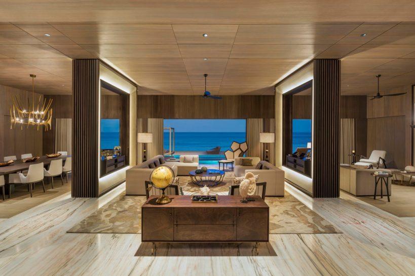 St Regis Vommuli Maldives John Jacob Astor Estate Living Room