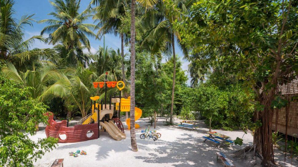 St Regis Vommuli Maldives Kids Club Outdoor Play