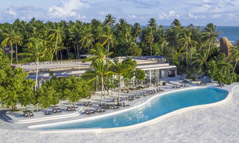 St Regis Vommuli Maldives Pool