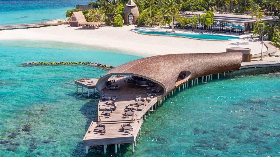 St Regis Vommuli Maldives The Whale Bar Overview