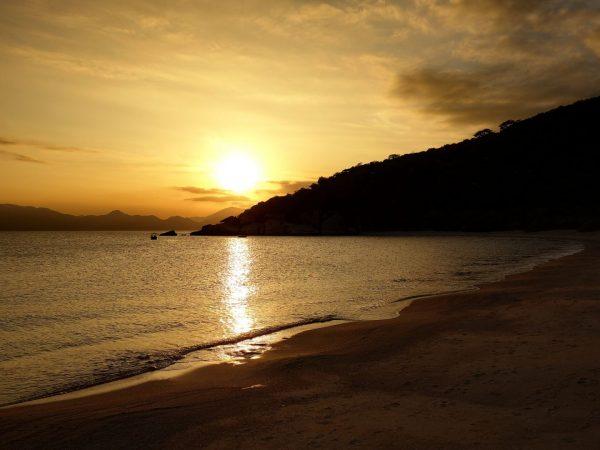 Sunset Over Ninh Van Bay