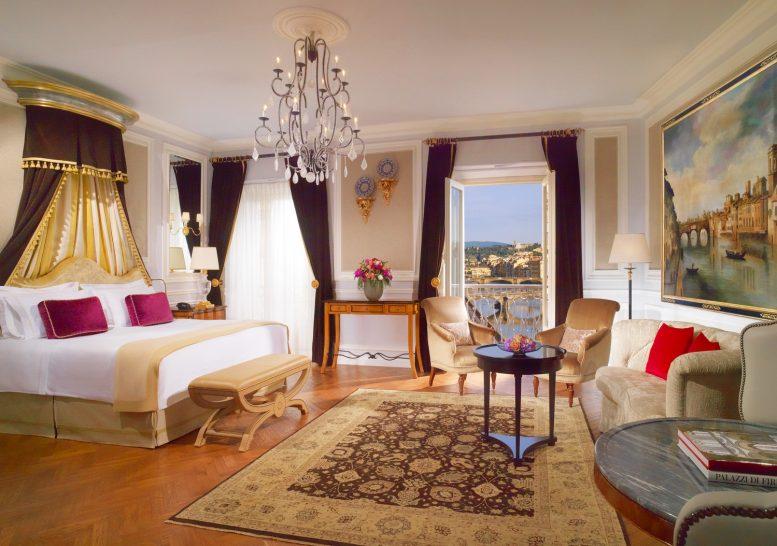 The St Regis Florence Arno River Junior Suite