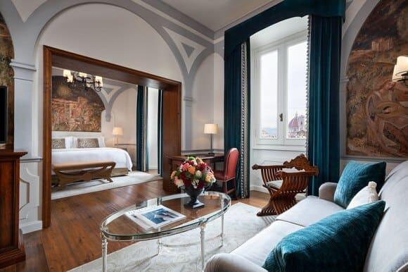 The St Regis Florence Junior Suite