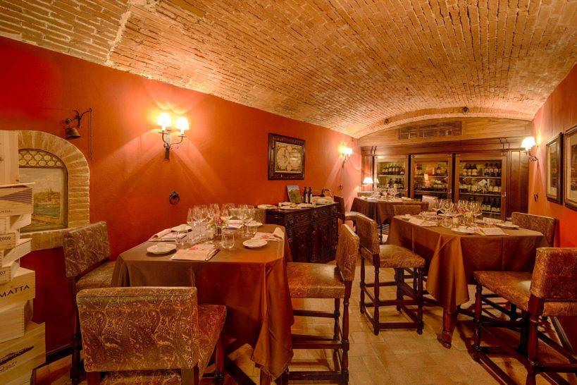 The St Regis Florence La Cantinetta Wine Cellar