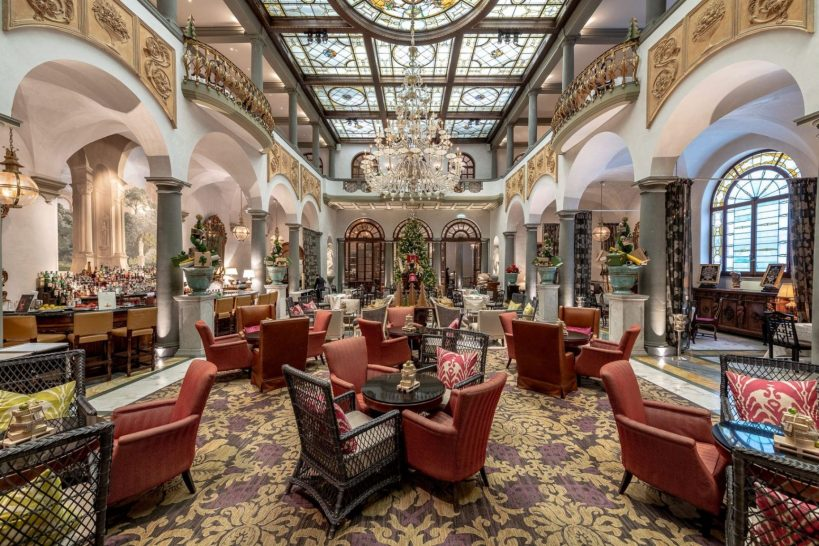 The St Regis Florence Winter Garden by Caino