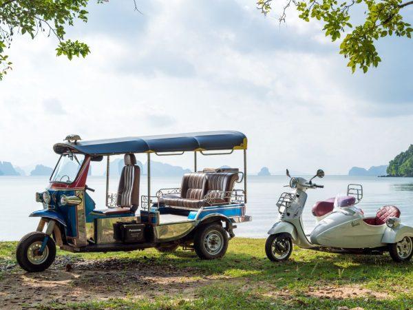Tour Yao Noi By Tuk Tuk Or Vespa