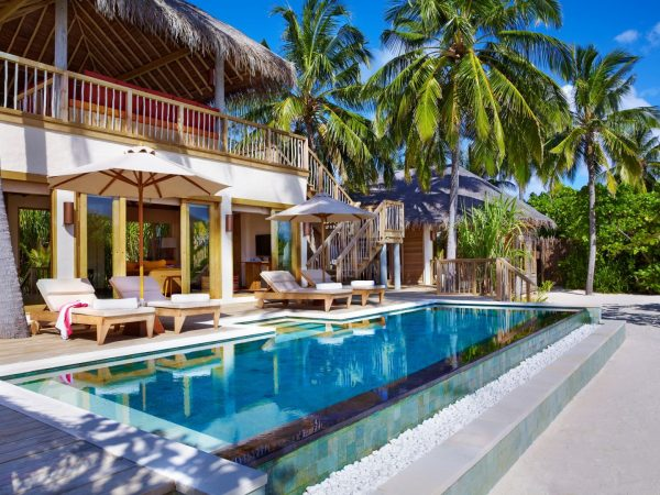 Two Bedroom Ocean Beach Villa With Pool Exterior