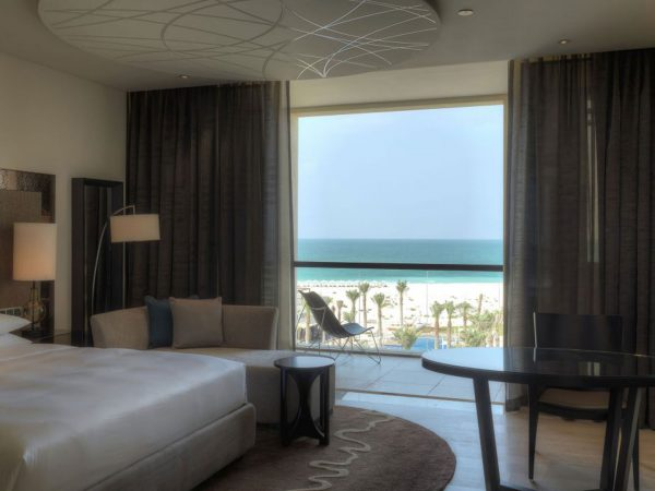 1 King Bed With Sea View