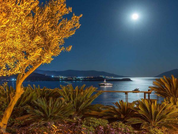 Caresse Bodrum Garden View On Full Moon