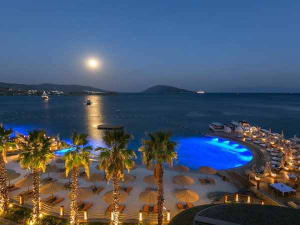 Caresse Bodrum Hotel Deck And Beach View