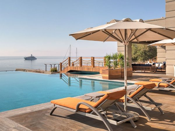 Caresse Bodrum Infinity Pool With A View