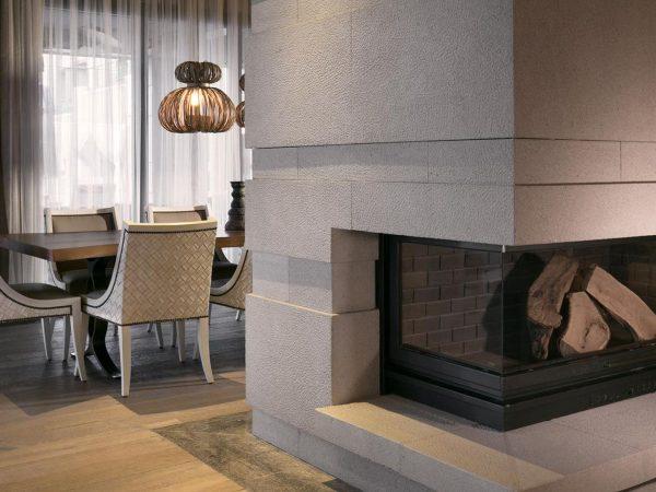 Caresse Bodrum Living Room Lounge Fireplace