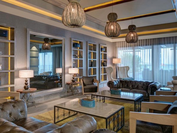 Caresse Bodrum Living Room Lounge Mirrored