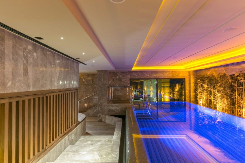 Caresse Resort and Spa Bodum Luxury Collection Spa pool