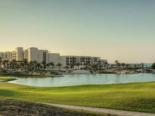 Golf course Park Hyatt Abu Dhabi