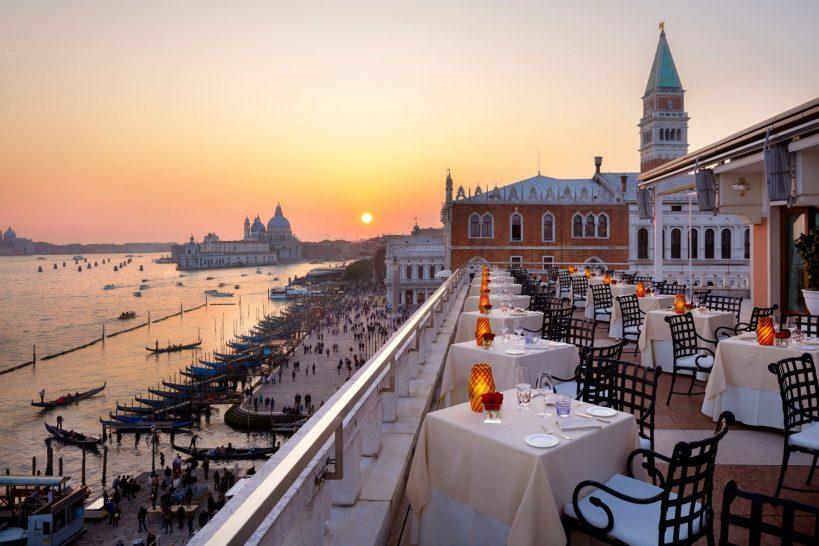 Hotel Danieli a Luxury Collection Hotel Venice Terrazza Danieli Sunset