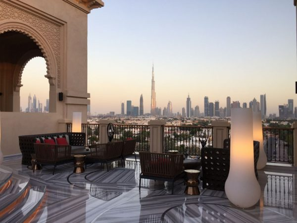 Four seasons resort dubai at jumeirah Mercury Lounge Rooftop Bar