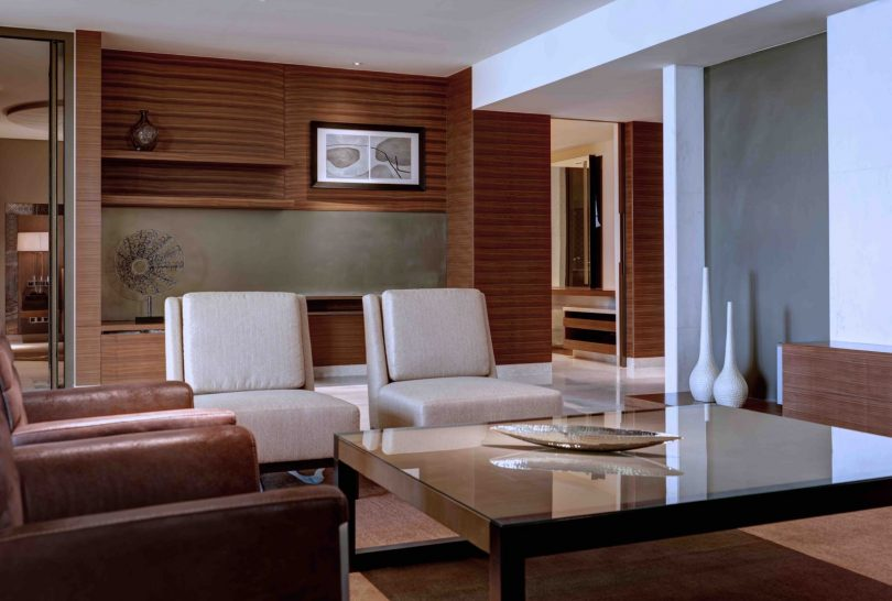 Prince Suite Living Area
