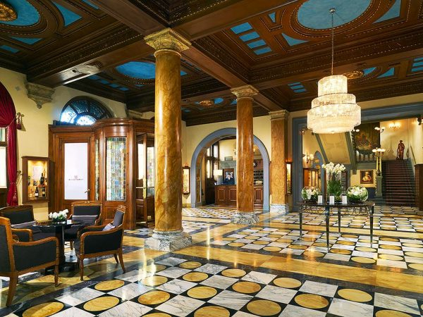 The Westin Excelsior Florence Lobby