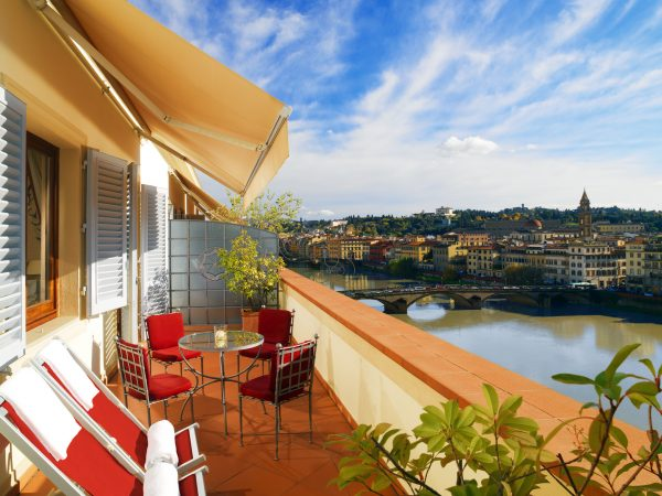 The Westin Excelsior Florence Suite Terrace