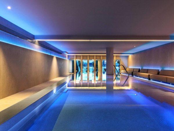 W hotel Barcelona Bliss spa pool