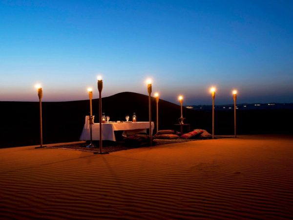 Al Maha Desert Resort and Spa Luxury Collection Dining