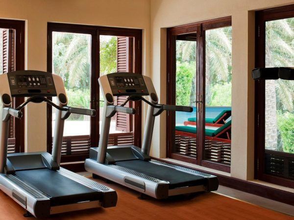 Al Maha Desert Resort and Spa Luxury Collection Gym