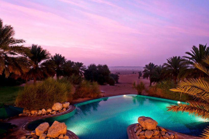 Al Maha Desert Resort and Spa Luxury Collection Pool