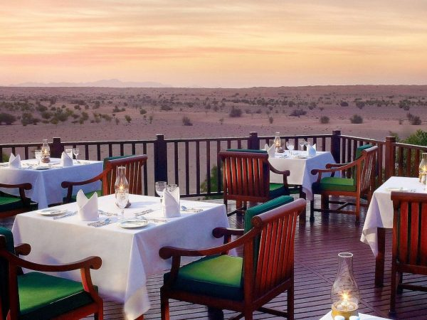 Al Maha Desert Resort and Spa Luxury Collection Restaurant