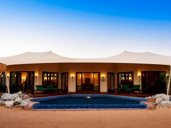 Al Maha Desert Resort and Spa Luxury Collection Suite