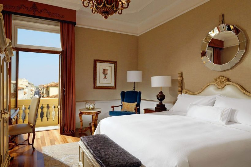 The Westin Excelsior Florence Arno River Deluxe Room