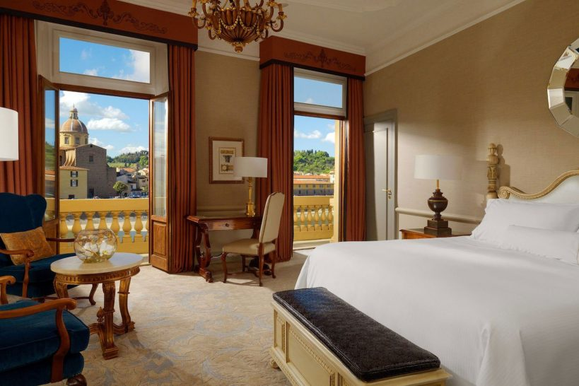 The Westin Excelsior Florence Arno River Premium Room