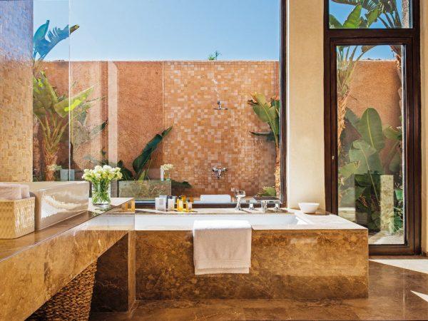 Fairmont Royal Palm Marrakech Prince Villa bathroom