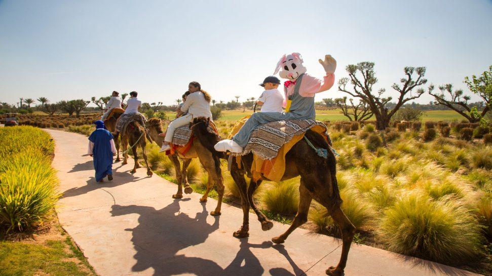 Fairmont Royal Palm Marrakech Kids Camel Riding