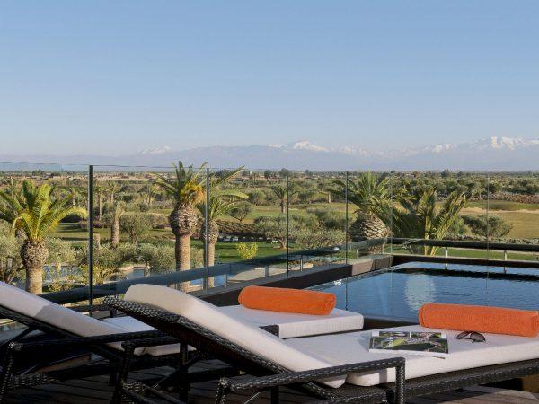 Fairmont Royal Palm Marrakech Penthouse Terrace