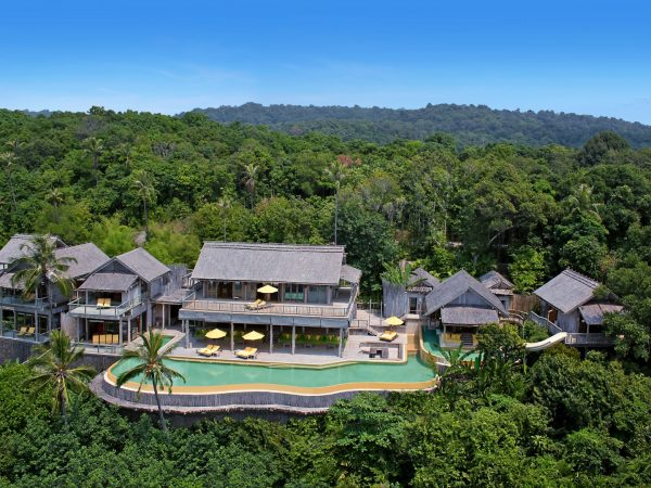 6BR Private Cliff Pool Reserve (Villa63) by Helicam