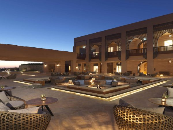 Anantara Al Jabal Al Akhdar Resort Courtyard